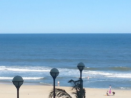 Hilton Suites Ocean City Oceanfront: view from 2nd fl. ocean front view