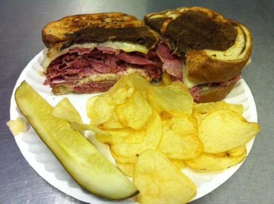 Reuben Panini - Picture of Big Al's Breakfast and Lunch, South ...