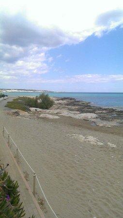 Lychnostatis Open Air Museum: Beach access