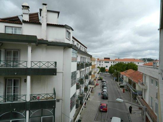Catolica Hotel: desde la terraza.