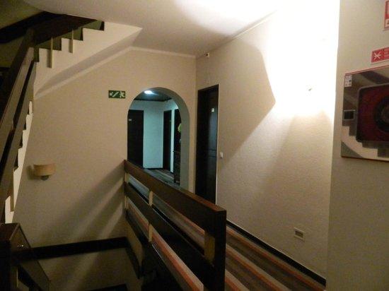 Catolica Hotel: pasillos tranquilos...
