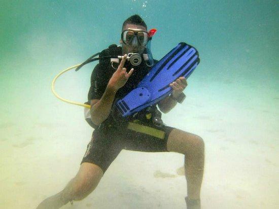Free Diving Caribbean: Me