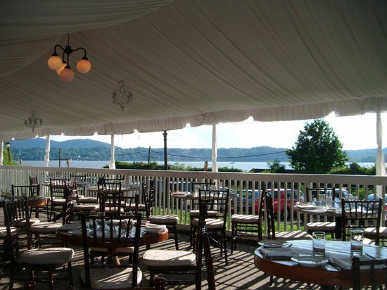 The Rhinecliff: Dining area