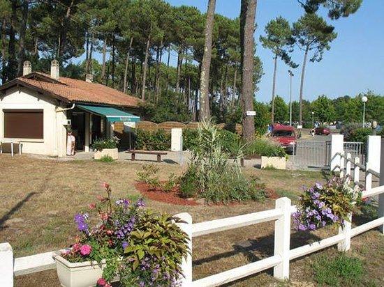 Mimizan, Frankreich: la récéption du camping