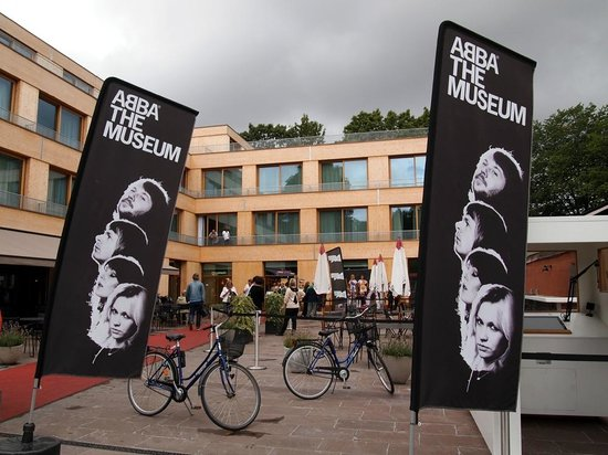 ABBA The Museum : Entrance to the museum