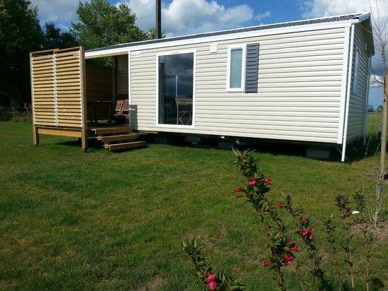 Camping Loire et Chateaux : Mobil Home 4/6 personnes