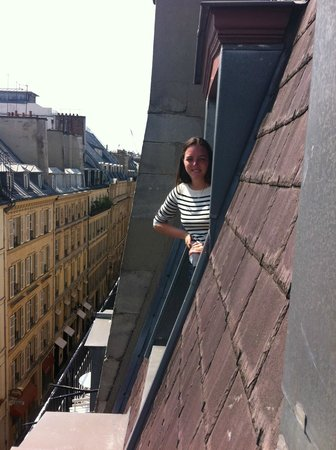 Renaissance Paris Vendome Hotel: View from one window to another