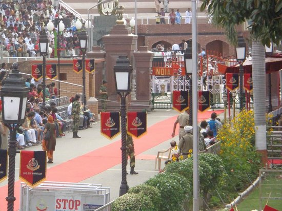 Wagah Border: Might be enjoyable if you have a VIP pass