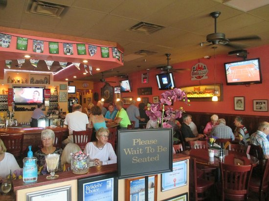 The Sand Trap Sports Bar And Grill Dining Room View