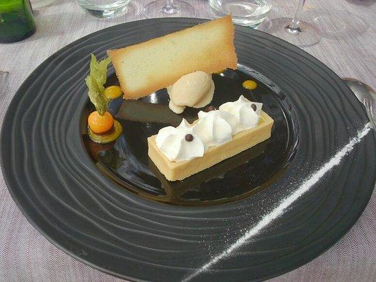 Hotel le Belvedere : Tartelette au citron