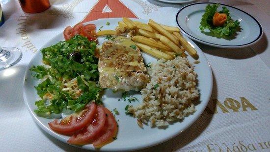 Taverna Romeo: Grilled Salmon