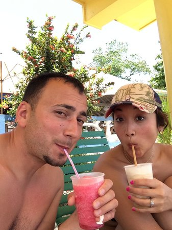 White Sands Negril: drink of the day