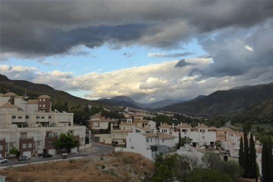 Hotel Macia Real de la Alhambra: Blick auf einen Teil von Granada von der Dachterrasse Hotel Real