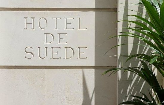 Hotel de Suede St. Germain : Facade