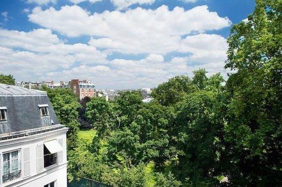 Hotel de Suede St. Germain : VUE DU 5ème ETAGE