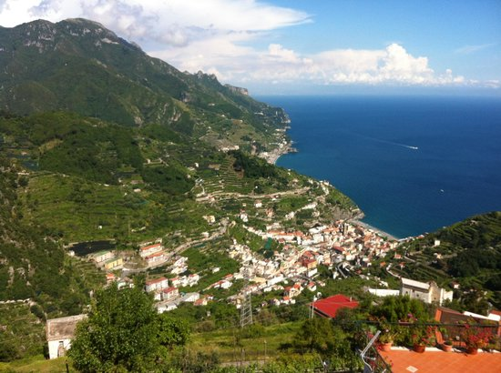 Ravello Rooms: the view from the room