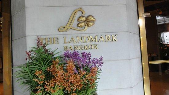 Landmark Bangkok: Hoteleingang