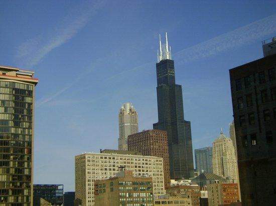 Chicago's Essex Inn : Hermosa Vista desde la Habitación