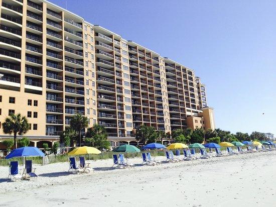 Island Vista : View of the resort