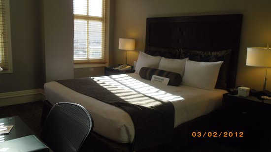 Handlery Union Square Hotel: lovely room