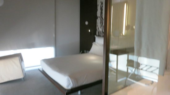 Silken Diagonal Barcelona: très grand lit