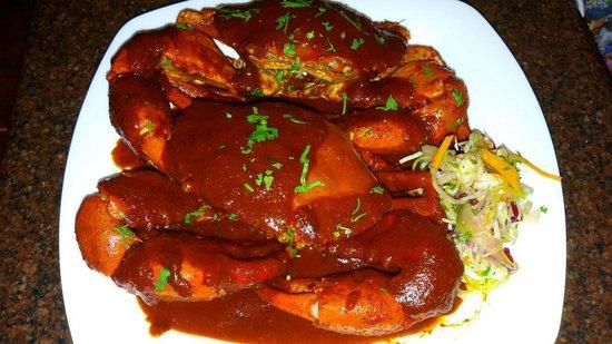 Peep Kitchen: Crab rechado at peepkitchen
