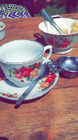 The Old Barn Tea Room: Lovely real tea in china