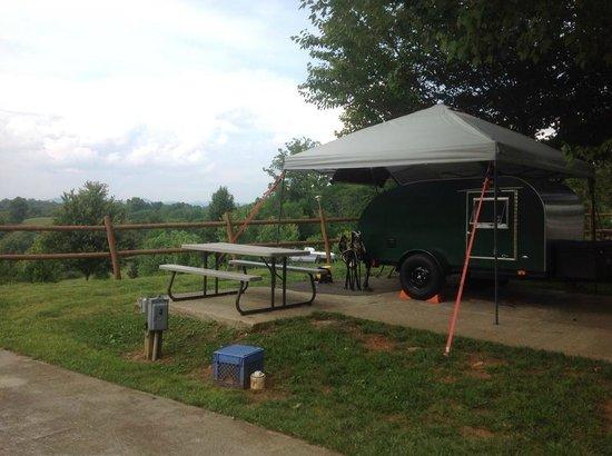 Bear Creek RV Park & Campground : My Teardrop 1