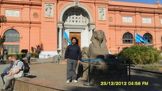 Musée égyptien du Caire : Ingreso al Museo