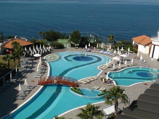 Sealight Resort Hotel: photo prise depuis ma terrasse