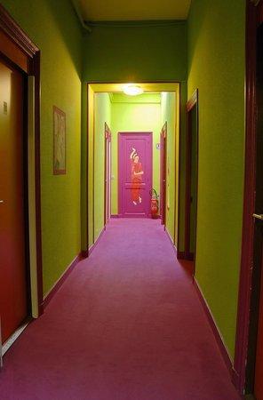 Hotel Heritage : couloir de l'hotel