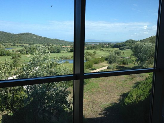 Argentario Golf Resort & Spa : View from the hotel