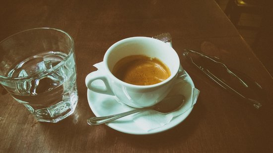 Cafe Alibi : double espresso