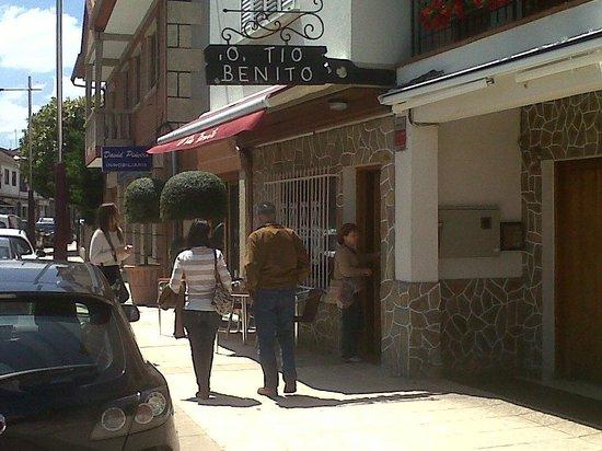 Ribadumia, Испания: O Tio Benito -entrada-