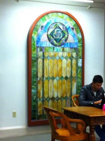 Provincetown Library : Stained Glass, Marc Jacob Room