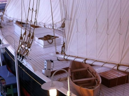 Provincetown Library : Mid Ship from Mezzanine