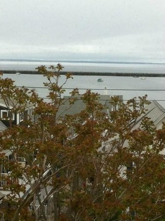 Provincetown Library : View of the Harbor from the Mezzanine