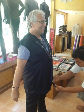 Ash Tailor Samui: 1st fitting of jacket