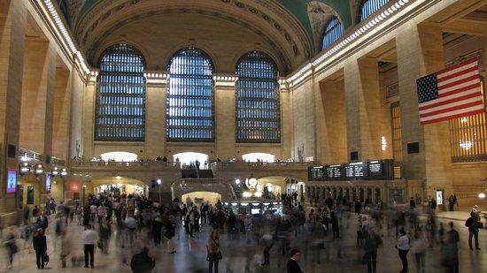 Grand Central Terminal: Le hall