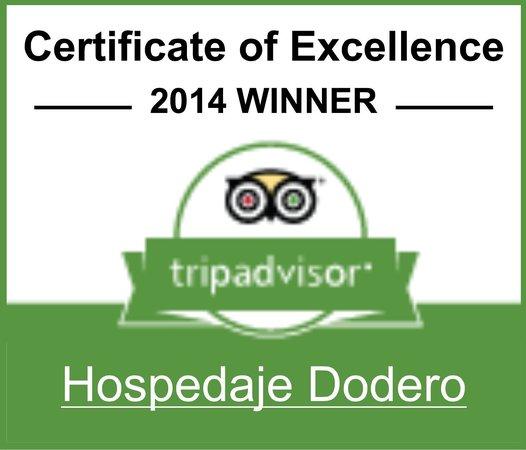 Hospedaje Dodero: 2014 Certificate of Excellence Winner