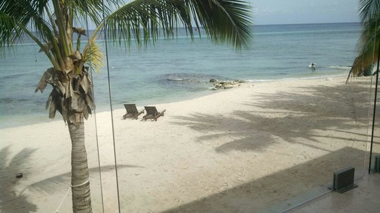 """Secrets Aura Cozumel: View from """"my""""balcony..saving my chairs for next year!"""