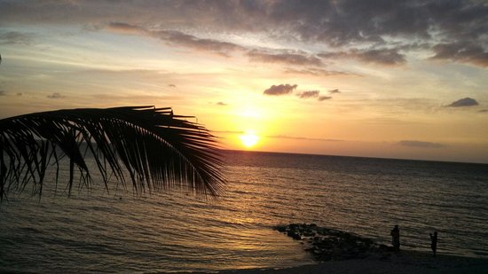 Secrets Aura Cozumel: Goodnight sun..the sunsets at Secrets Aura are amazing