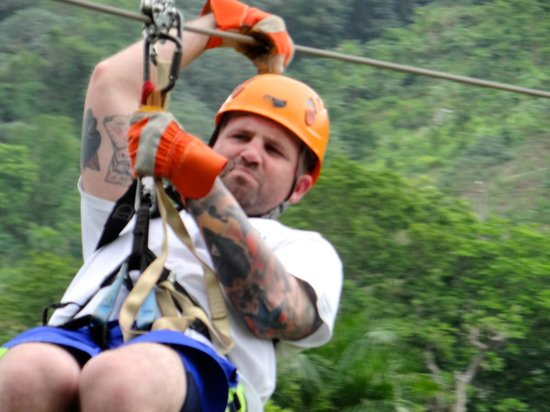 Melia Caribe Tropical: zip lining excursion