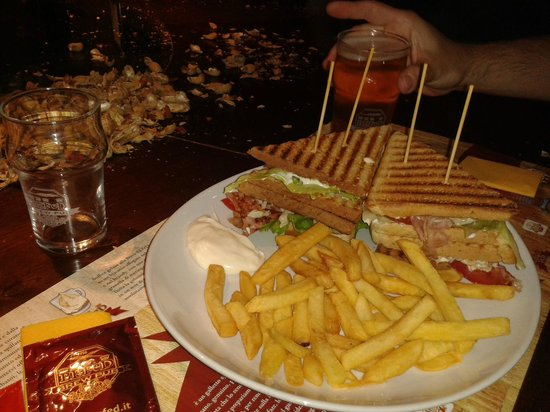BEFeD Catania: Club Sandwich