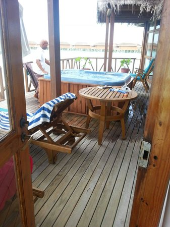 Meeru Island Resort & Spa : Terrace honeymoon villa