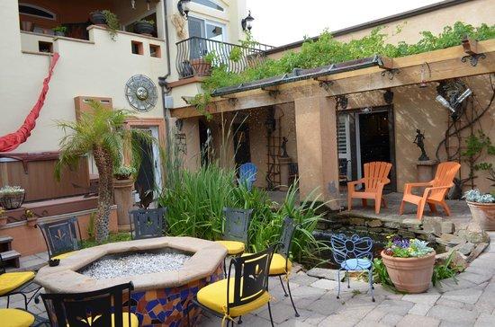 Milo's Inn at Boulder: Il giardino di Milo's