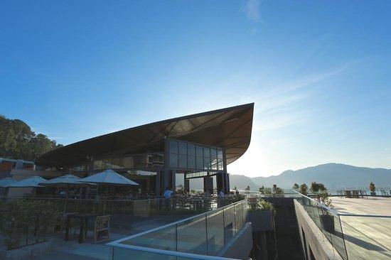 Kalima Resort & Spa : Terrasse für Frühstück und Abendessen