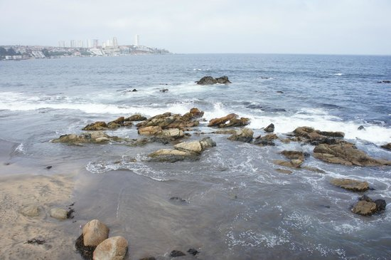 Panamericana Hotel Quintero: Praia de quintero