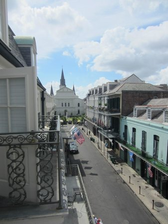 Bourbon Orleans Hotel: View from fifth floor balcony