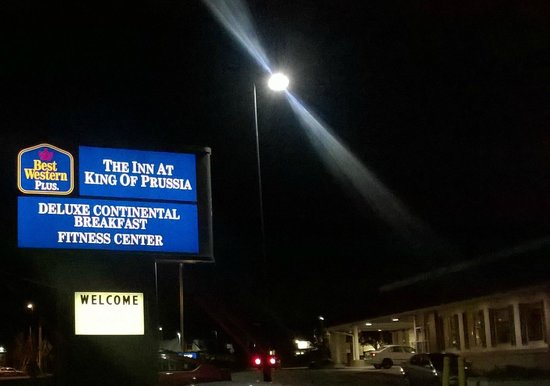 Best Western Plus The Inn at King of Prussia: Hotel Sign Visible from Route 202